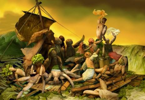 Theodore Gericault. The Raft of the Medusa