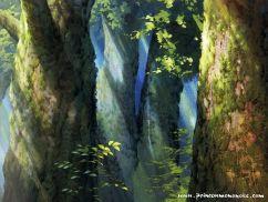 ghibli fond peinture-wallpaper_mononoke5