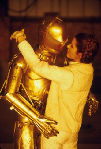 On The Set of 'Empire Strikes Back'