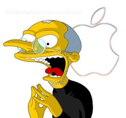 burns steve jobs simpson