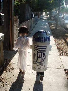 star wars couple r2d2 lea
