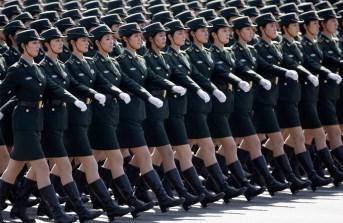 soldat femme chine