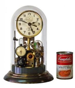 Horloge Montre Steampunk 4022_Glass_Dome-256x300