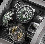 Horloge Montre Steampunk vulcania1