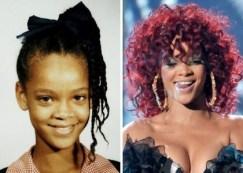 photos de stars jeune ecole Rihanna