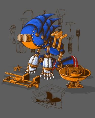 sonic steampunk