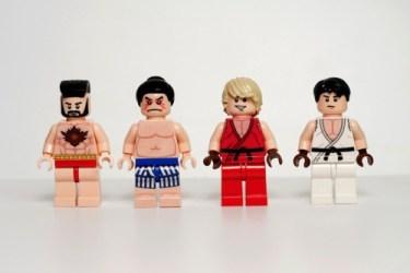 street fighter lego