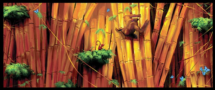 1 concept art donkey kong returns