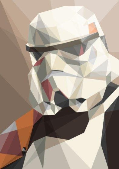 trooper-polygonal-star-wars