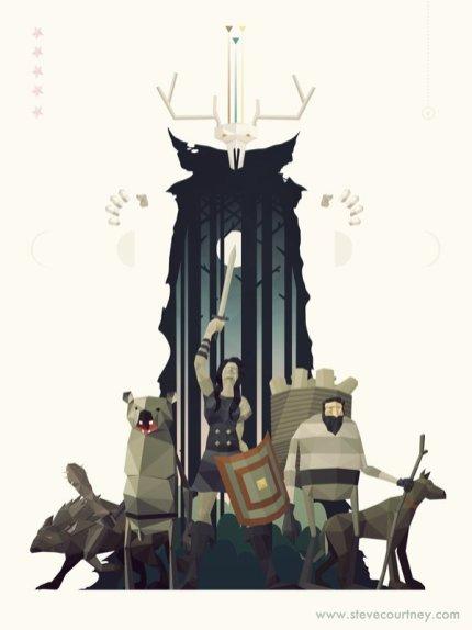 Sword & Sworcery Swixty-Four by Steve Courtney