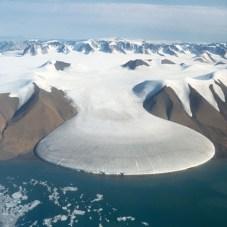 glacier langue mer