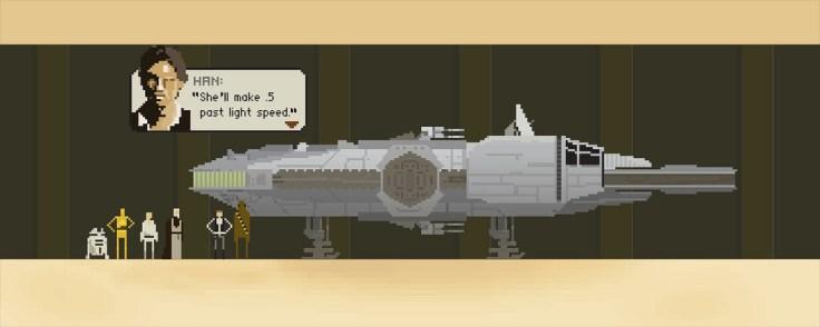 millenium falcon - oktotally.tumblr.com