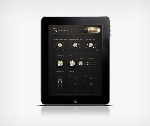 Looks like good iPad App Interface by Jonas Eriksson
