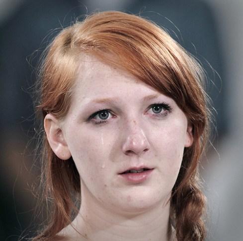 Marina Abramovic pleurer 1