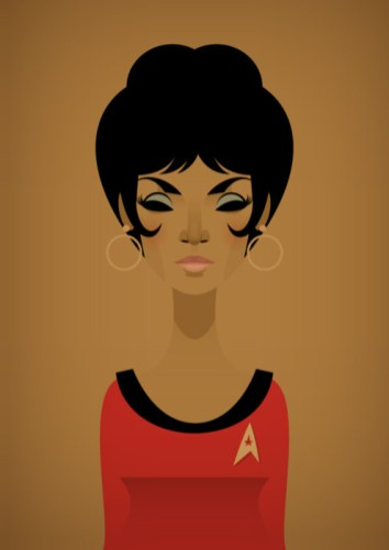 Stanley Chow Illustration — Uhura