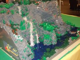 cascade lego par Legoorci