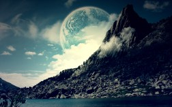 Planet-and-Mountain