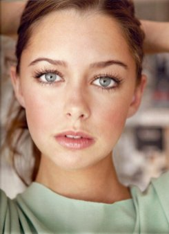 portrait yeux bleus