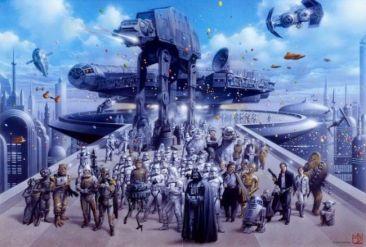 12 dessin star wars kitch