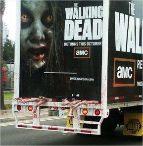 walking dead camion