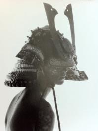 fille casque samurai