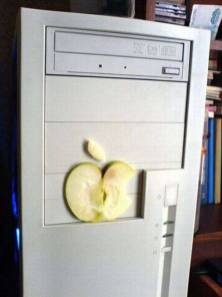 pc apple pomme
