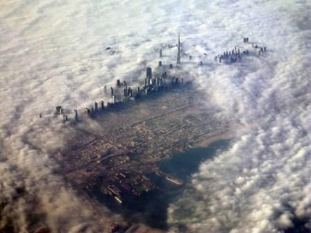 ville nuage
