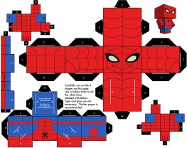 Blog_Paper_Toy_papertoy_Spider_Man_Template