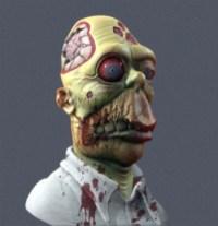 zombie homer