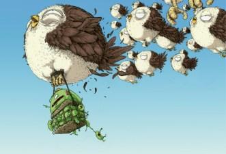 Green Beans Project oiseaux