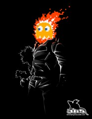 fantome ghost rider pacman