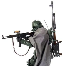 soldat sniper maquette casque allemand