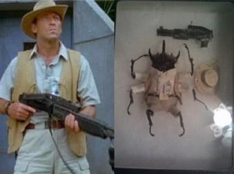 scarabee en acteur de jurassic parc 2