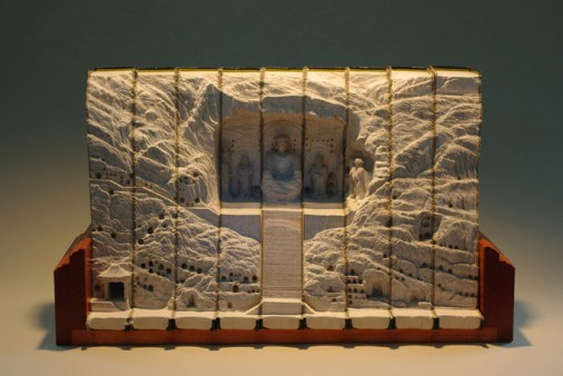 13 livre sculpture Guy Laramee