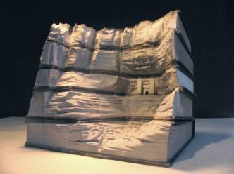 3 livre sculpture Guy Laramee