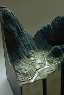 9 livre sculpture Guy Laramee