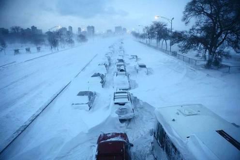 tempete de neige autoroute