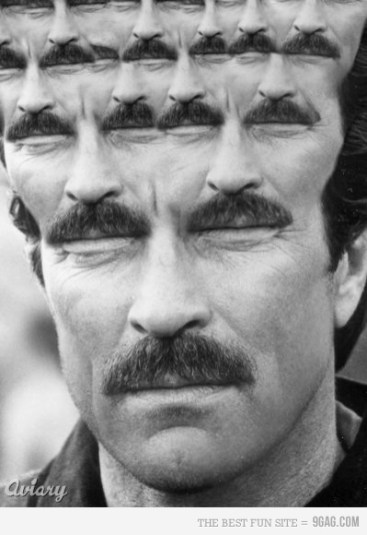 infinie moustache magnum