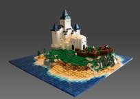 12 chateau lego castle