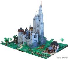 17 chateau lego castle