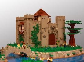 18 chateau lego castle