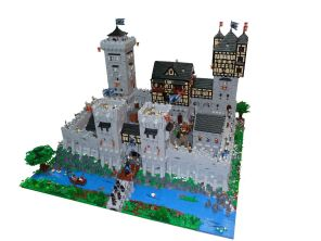 24 chateau lego castle