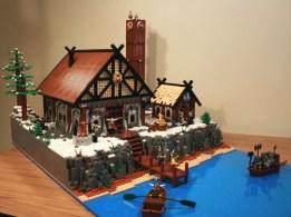 29 chateau lego castle