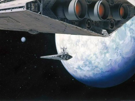 ralph_mcquarrie_star wars star destroyer