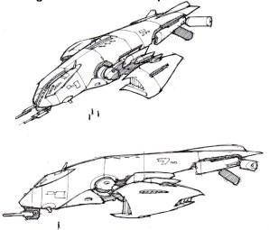 117-vaisseaux design concept dessin