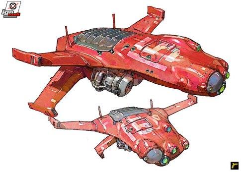 127-vaisseaux design concept dessin