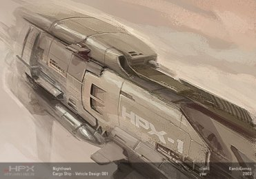 136-vaisseaux design concept dessin