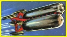 161-vaisseaux design concept dessin