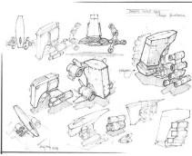 167-vaisseaux design concept dessin