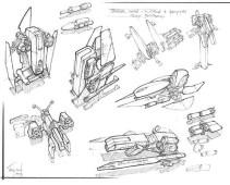 168-vaisseaux design concept dessin
